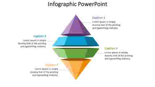 Pyramid infographic powerpoint presentation