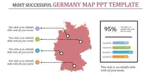 germany map ppt template-Most Successful Germany Map Ppt Template