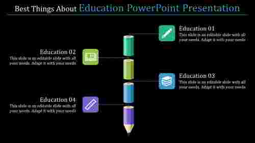 education powerpoint presentation - four stages