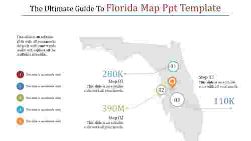 new florida map powerpoint template