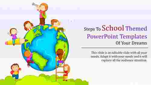 Amazing school themed powerpoint templates