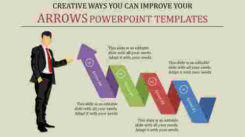 A four noded powerpoint templates