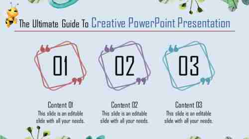Fascinating creative powerpoint presentation