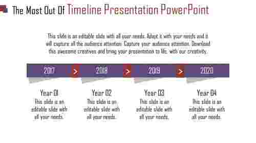 interlaced timeline presentation powerpoint