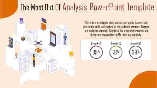 analysis powerpoint template - perspective