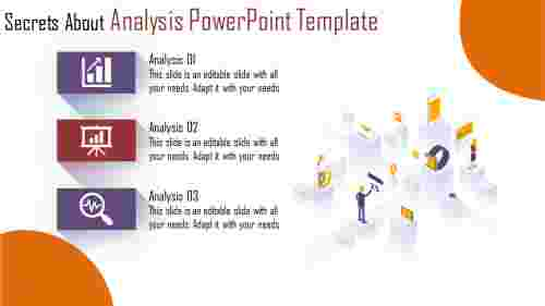analysis powerpoint template - business organisation