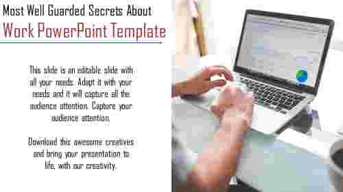 A one noded work powerpoint template