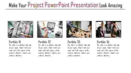 A four noded project powerpoint presentation