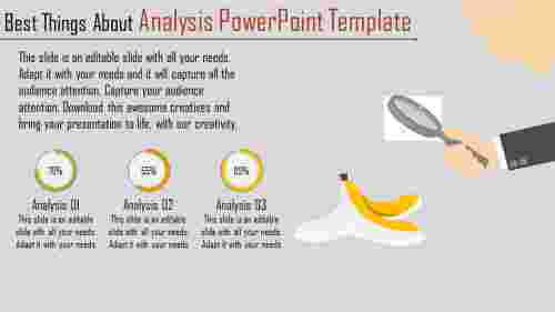 A three noded analysis powerpoint template