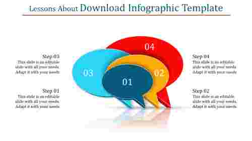 Download infographic template-Callouts diagrams
