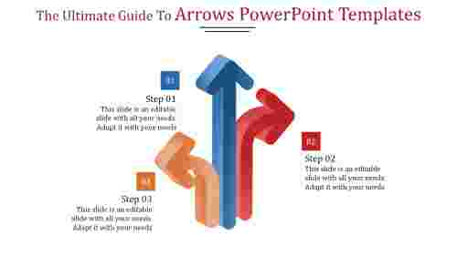 Path arrows powerpoint templates