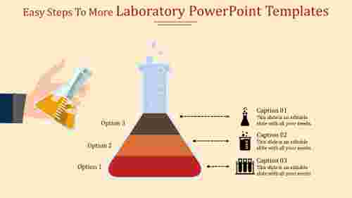 A three noded laboratory powerpoint templates