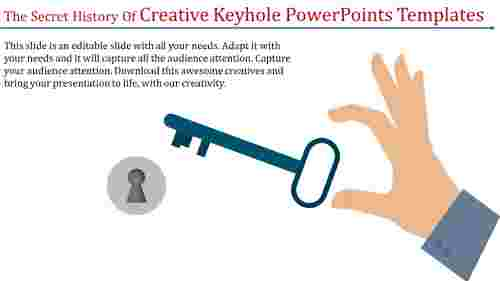 Creativekeyholepowerpointtemplateswithkeydiagrams