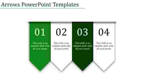 arrows powerpoint templates-Arrows Powerpoint Templates-4-Green