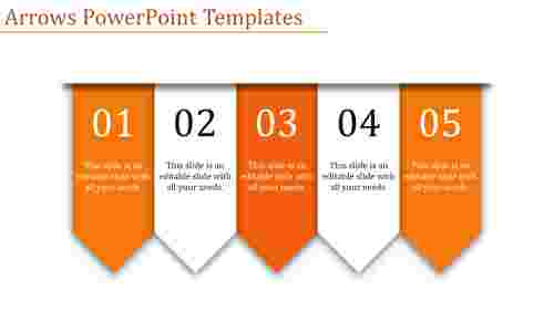 arrows powerpoint templates-Arrows Powerpoint Templates-5-Orange
