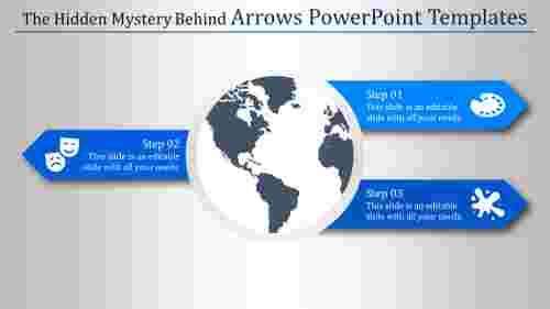 arrows powerpoint templates-The Hidden Mystery Behind Arrows Powerpoint Templates-Blue
