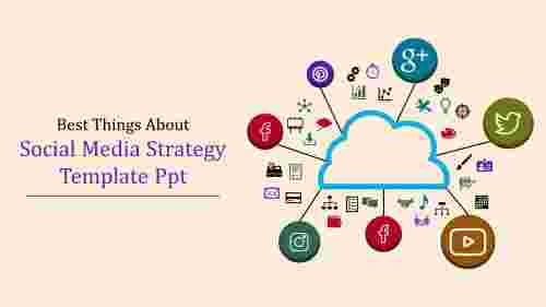 social media strategy template ppt-Best Things About Social Media Strategy Template Ppt
