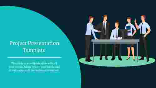 A one noded project presentation template