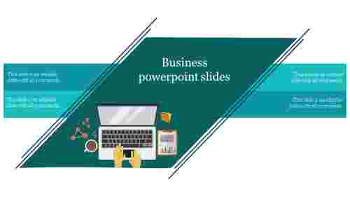 A four noded business powerpoint slides