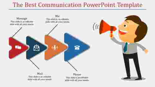 Marketing communication powerpoint template