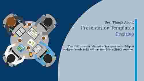 Presentation Templates Creative-top view