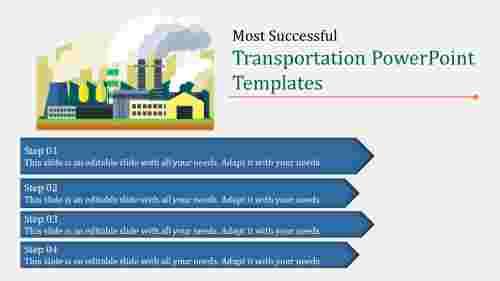 UnevenTransportationPowerPointtemplate