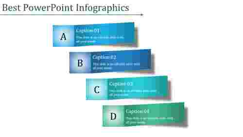 Four steps best powerpoint infographics