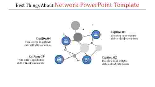 NetworkPowerpointTemplateswarm