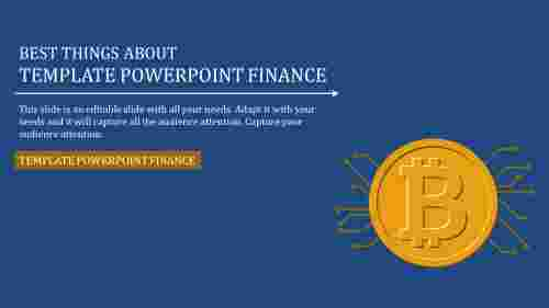 A one noded template powerpoint finance