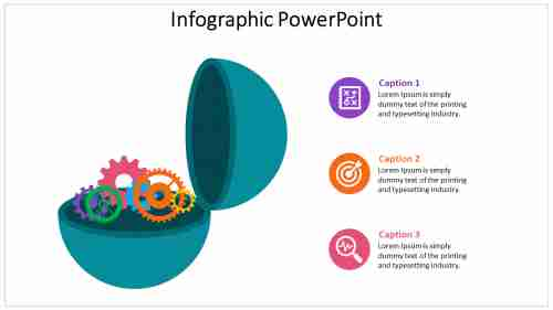 Gearwheel Infographic Powerpoint