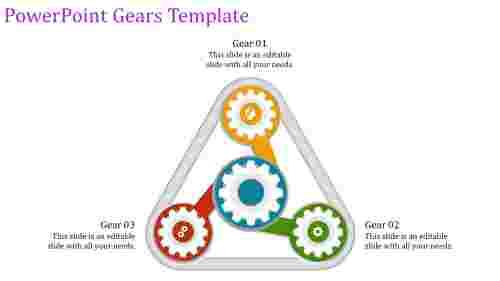 PowerPointgeartemplate-trianglemodel