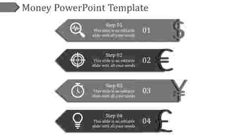 money powerpoint template-Money Powerpoint Template-Gray