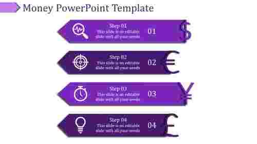 money powerpoint template-Money Powerpoint Template-Purple