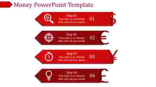 money powerpoint template-Money Powerpoint Template-Red