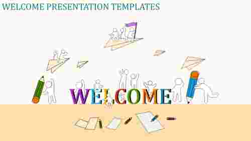 welcome presentation templates with images