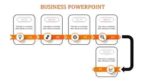 business powerpoint -business powerpoint -5-Orange
