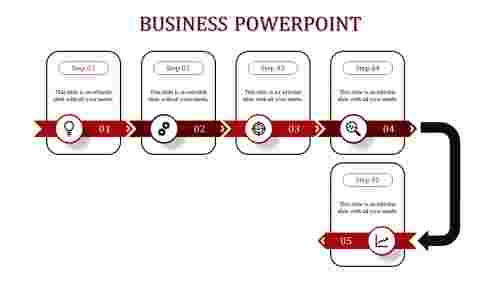 business powerpoint -business powerpoint -5-Red