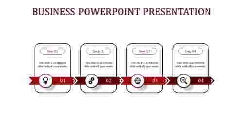 business powerpoint presentation-business powerpoint presentation-Red