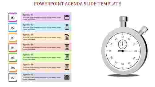 powerpoint agenda slide template-Powerpoint Agenda Slide Template-Multicolor