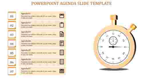 powerpoint agenda slide template-Powerpoint Agenda Slide Template-Orange