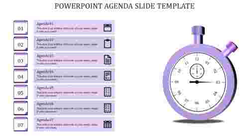 powerpoint agenda slide template-Powerpoint Agenda Slide Template-Purple