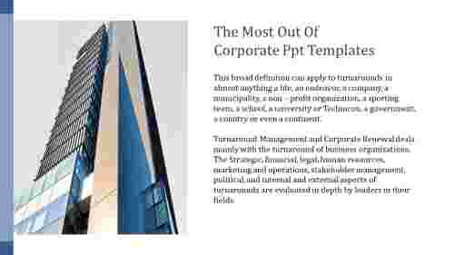 A one noded corporate PPT templates