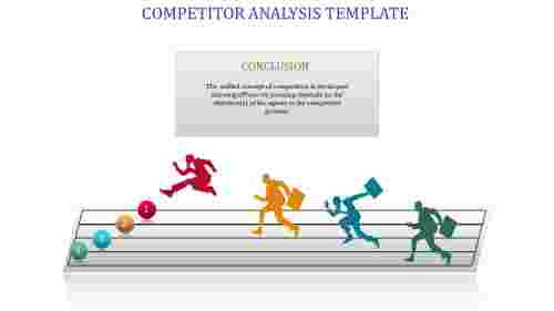A one noded Competitor analysis template