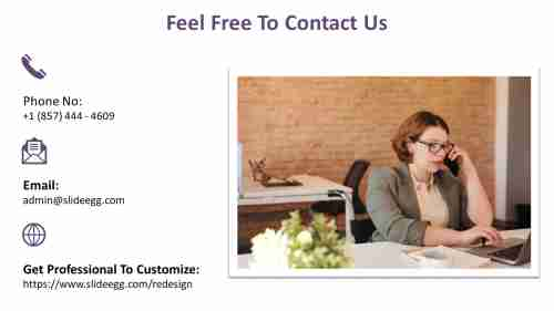Simple%20Contact%20Us%20PPT%20For%20Eyeglassess%20Presentation