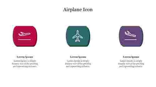 Editable%20Airplane%20Icon%20PPT%20Template