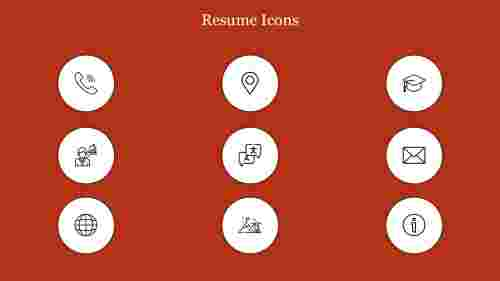 Editable%20Resume%20Icons%20PPT%20Template