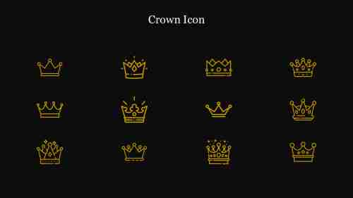 Creative%20Crown%20Icon%20PPT%20Template