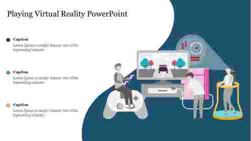 Playing%20Virtual%20Reality%20PowerPoint%20Slide