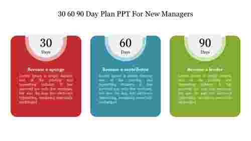 30%2060%2090%20Day%20Plan%20PPT%20For%20New%20Managers%20Presentation