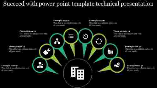 power point template technical present
